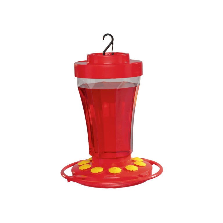 32 oz. Hummingbird Flower Feeder